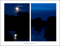 Sudbury Moonrise 0815