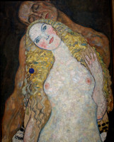 Klimt Adam and Eve (1)