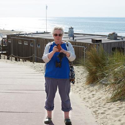Susan on Texel2