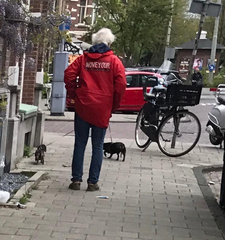 Man and Dog 3 May